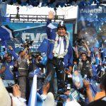Evo Morales en el cierre de campaña electoral en 2014. Fotos: ABI