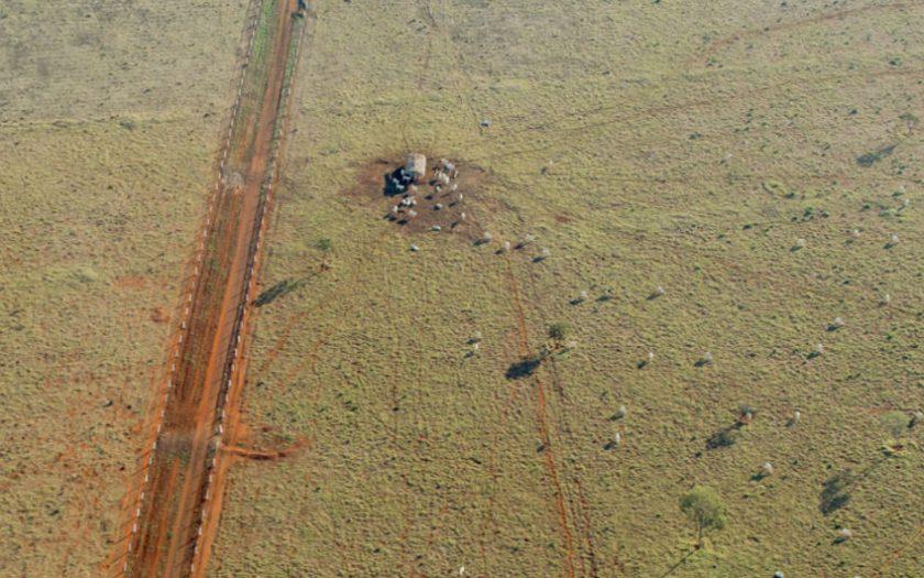 Deforestación en Brasil. Foto: Riccardo Pravettoni, PNUD