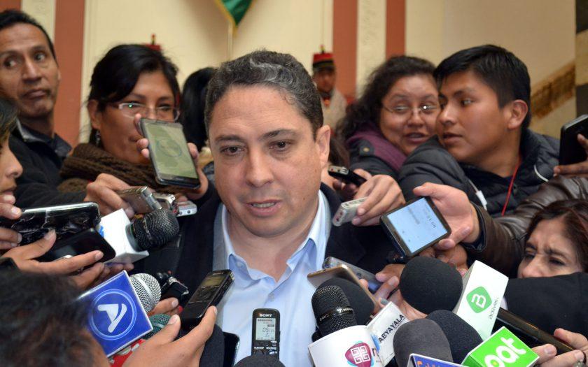 Héctor Arce, ministro de Justicia y Transparencia Institucional