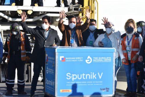 Llegada de Sputnik V a Bolivia