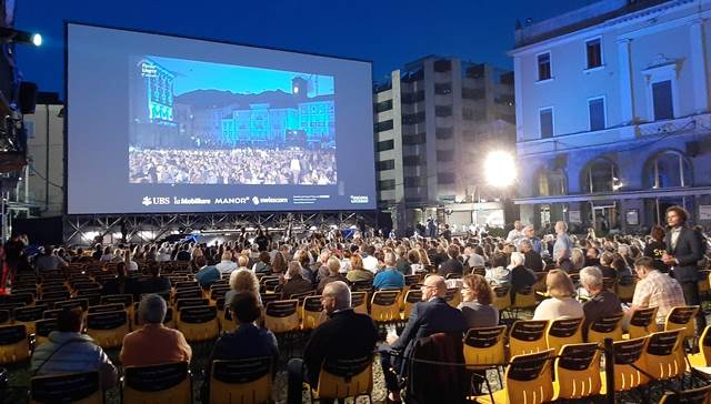 La Plaza Grande, corazón del Festival de Locarno